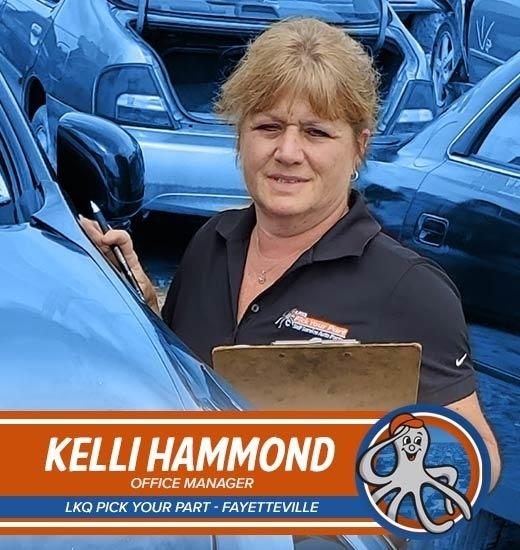 Kelli Hammond - Gerente de oficina