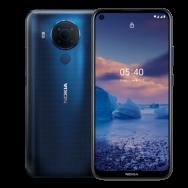 Fotografia frente e verso do smartphone Nokia 5.4